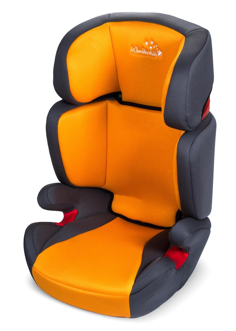 Автокресло Wonderkids Rookie 15-36 кг (WK03-R21-005) оранжево-серый