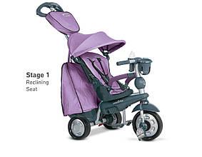 Трёхколёсный велосипед Explorer 5 в 1, цвет лиловый, Smart Trike (8201200)