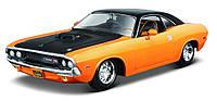 Автомодель Maisto 1970 Dodge Challenger R/T Тюнинг Оранжевый 1:24 (32518 orange)