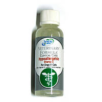 Veterinary Formula (Ветеринарная Формула) гипоаллергенный шампунь для собак и кошек 45 мл