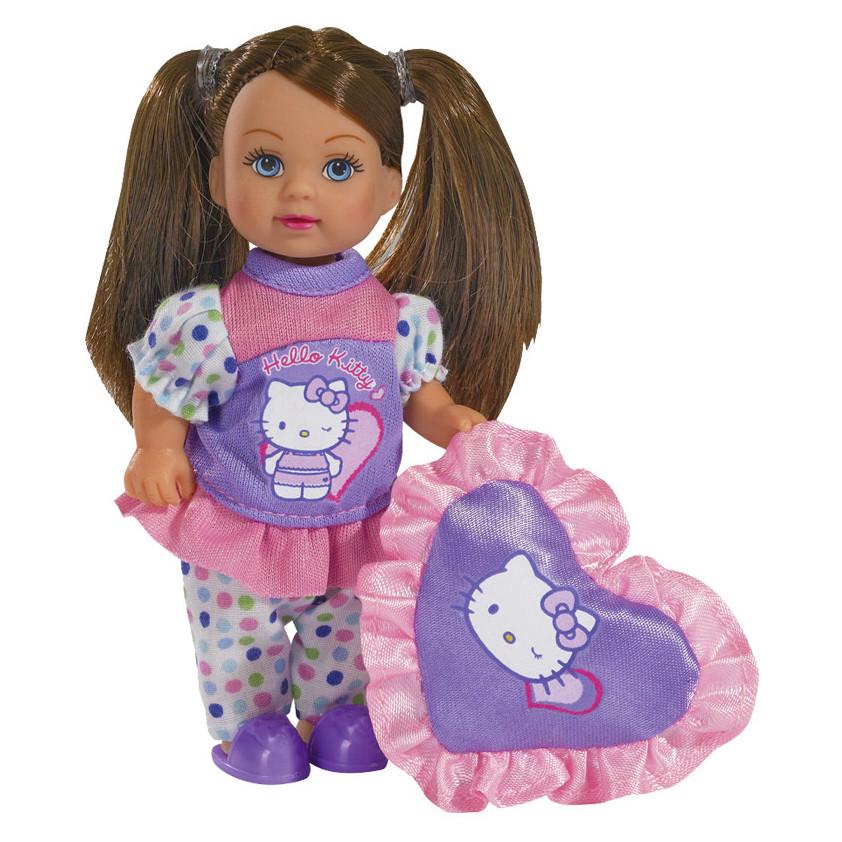 """Куклы и пупсы «Simba» (5732787) Эви на пижамной вечеринке """"Hello Kitty"""" (вид 1)"""