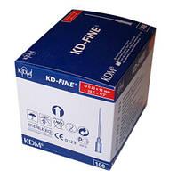 KD-Fine Игла одноразовая инъекционная стерильная 29G (0,33 х 12 мм) 100 шт.