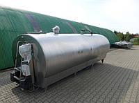 Охладитель молока закритого типа Alfa laval (б/у)  обьем 12 500 л.