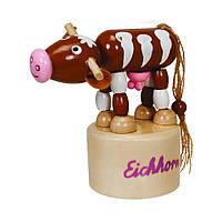 Игровые фигурки «Eichhorn» (0003437) двигующаяся фигурка Телёнок