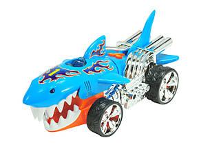 Игрушечные машинки и техника «Toy State» (90512) экстремальные гонки Sharkruiser Hot Wheels, 23 см (свето-звуковые эффекты)