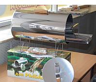 Коптильня для рыбы и мяса (нержавейка) d-250 mm М
