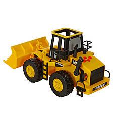 Ковшовый погрузчик CAT, 33 см «Toy State» (35643), фото 3