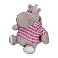 Мягкая игрушка «Orange» (MC1983/30) бегемот Жорик, 50 см, (в розовой толстовке)