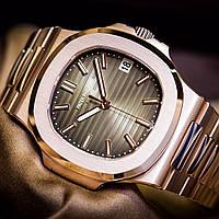Наручные часы PATEK PHILIPPE NAUTILUS AAA 5711/1R, механические мужские копия, фото 1