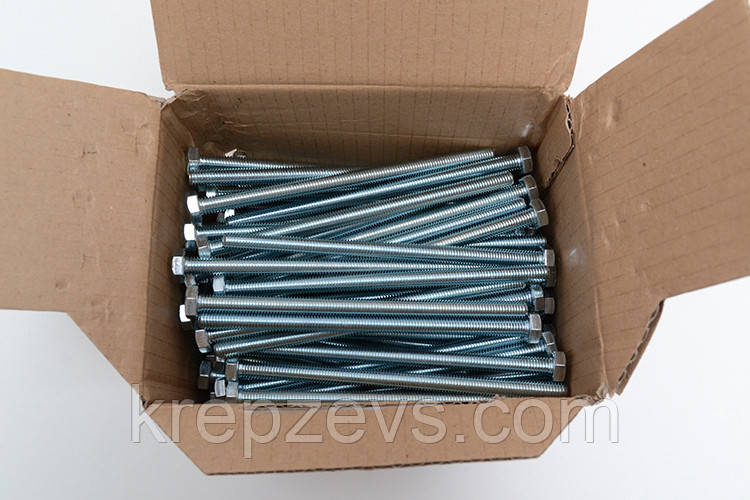 Болт М14 DIN 933 класс прочности 8.8