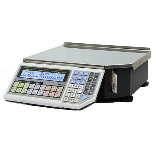 Весы с печатью этикеток «Штрих-ПРИНТ Ф1» v. 4.5 (2 Мб)