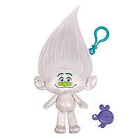 Мягкая игрушка «Trolls» (6202D) тролль с клипсой Алмаз (Guy Diamond), 22 см
