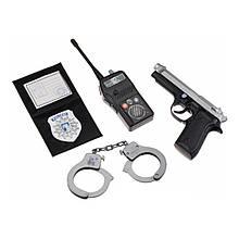 Игровой набор «Simba» (8102669) набор полицейского, 4 предмета