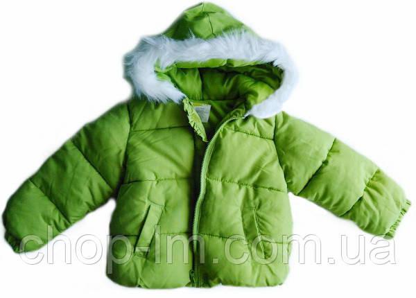 Куртка (теплая) для девочки 2-3 года Crazy8