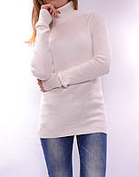 Теплый свитер из шерсти мериноса, белый