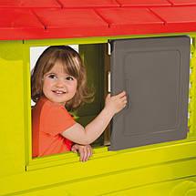 """Игровые площадки «Smoby» (310069) домик дачный """"Nature"""" с раздвижными ставнями, фото 2"""