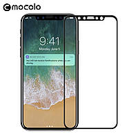 Защитное стекло Mocolo 3D 9H на весь экран для Apple iPhone X черный