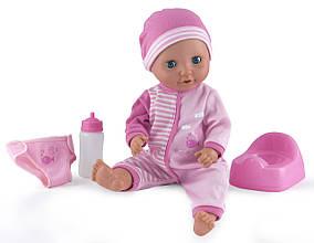 Куклы и пупсы «Dolls World» (8120) интерактивный пупс Малыш Пи-Пи мочит памперс, с аксессуарами