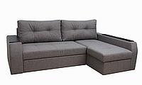 Угловой диван Garnitur.plus Барон светло-серый 250 см