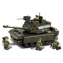 Конструктор «Sluban» (M38-B6500) танк, 312 элементов, фото 3