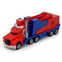 """Автомобиль """"Трансформер. Миссия Оптимус Прайм"""" с пусковой платформой, 16 см «Dickie Toys» (3112003)"""