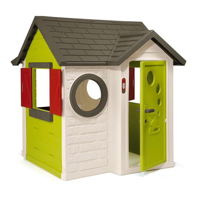 """Игровые площадки «Smoby» (310228) домик """"На берегу моря"""" с дверным звонком и ключом"""