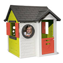 """Игровые площадки «Smoby» (310228) домик """"На берегу моря"""" с дверным звонком и ключом, фото 2"""