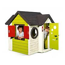 """Игровые площадки «Smoby» (310228) домик """"На берегу моря"""" с дверным звонком и ключом, фото 3"""