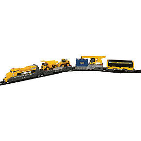 "Железная дорога «Toy State» (55450) железная дорога CAT ""Дизельный тепловоз"", фото 2"