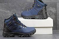 Мужские синие ботинки Timberland, зима