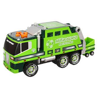 Мусоровоз, 36 см (зелёный) «Toy State» (30240), фото 2