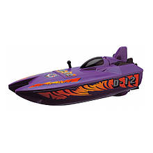 """Игрушечные машинки и техника «Dickie Toys» (3772002) скоростной катер """"Wave Fun"""", 18 см (фиолетовый)"""