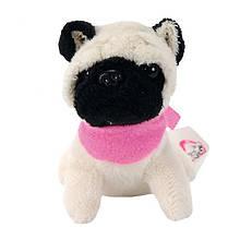 "Мягкая игрушка «Chi Chi Love» (5890208) собачка Мопс ""Мини-модница (Mini Fashion)"", 10 см"