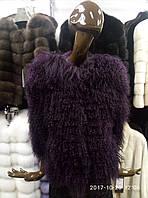 Полупальто из меха ламы - 06460