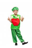 Карнавальный костюм Яблока на мальчика 3-8 лет (Украина) купить оптом в Одессе на 7 км