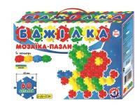 """Мозаїка-пазли """"Бджілка"""" (60 деталей). 2995 (5) """"ИНТЕЛКОМ"""" [коробка]"""