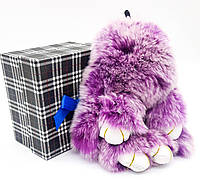 Заяц-брелок биколор: Фиолетовый