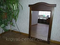 """Настенное зеркало в деревянной раме от производителя """"Микель"""" (орех), фото 3"""