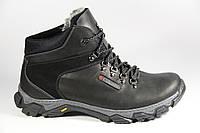 Мужские ботинки из натуральной кожи и меха BFS2B