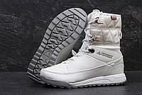 Белые зимние ботинки Adidas Terrex, женские