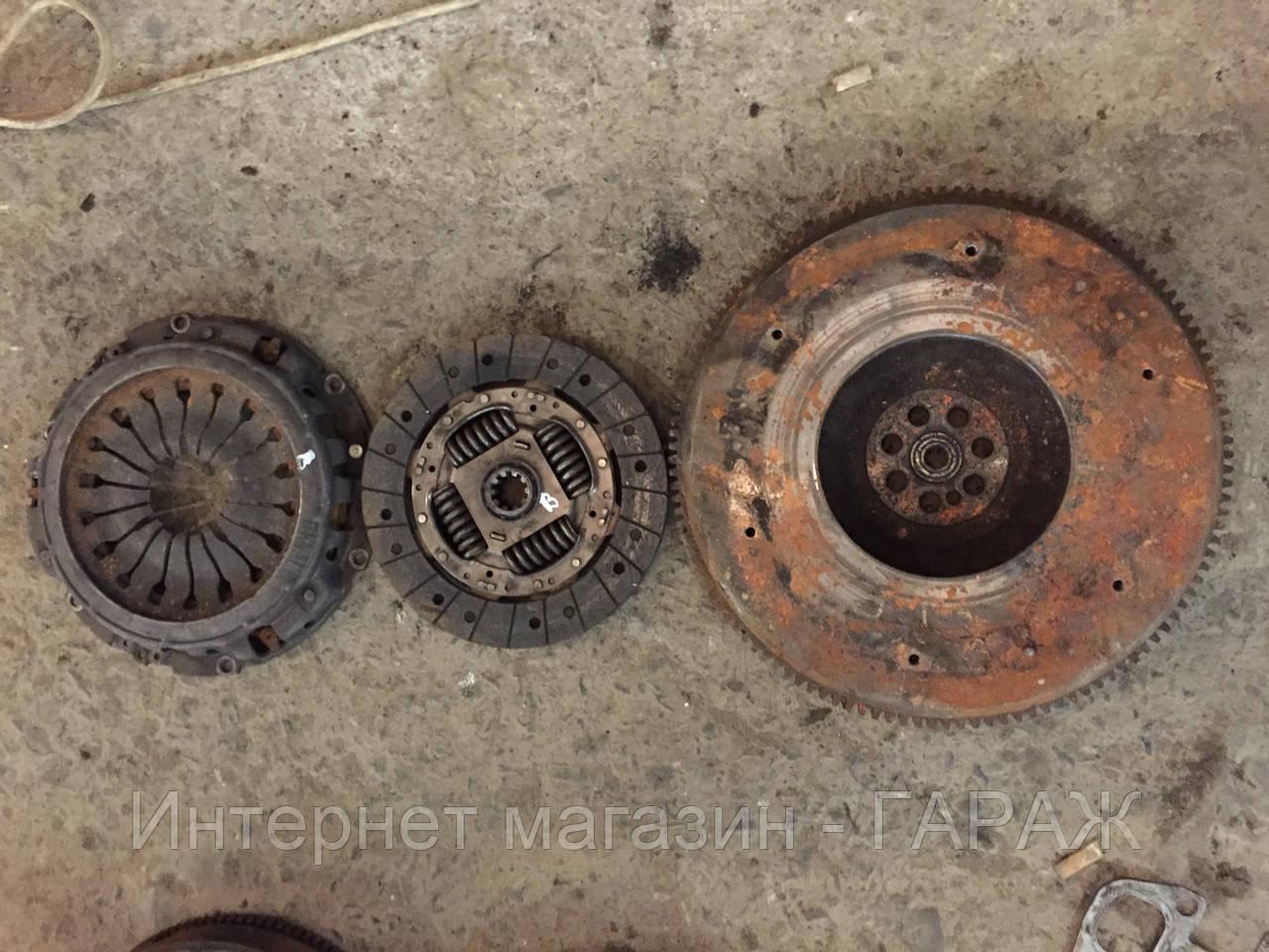 Комплект сцепления кпп 5 ступки (диск + корзина + маховик) Renault Mas