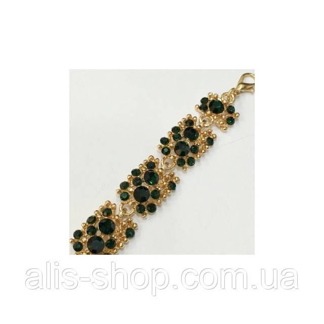 Массивность и загадочные узоры - ультра модный браслет с камнями в серебре