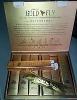 Шпанская мушка Gold Fly, голд флай -  афродизиак -пробник 6 пакетиков