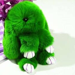 Заяц-брелок Зеленый