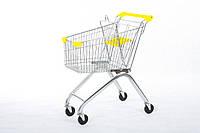 Покупательская тележка для супермаркета, ОЛАЛ ГРУПП, YRD-A60/S - желтый