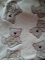 """Одеяло для новорожденного. Махровое одеяло """"Мишутка"""""""