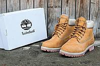 Женские ботинки на зиму Timberland (реплика)