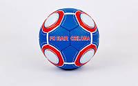 Мяч футбольный №5 гриппи Barcelona 8013: PVC, сшит вручную