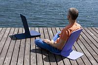 Кресло для отдыха на природе и медитации