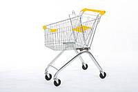 Покупательская тележка для супермаркета, ОЛАЛ ГРУПП, YRD-A60/S - оранжевый